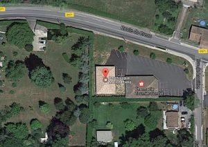 Vue Google Maps du cabinet