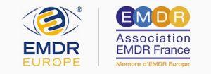 Logos EMDR Europe et Association EMDR France